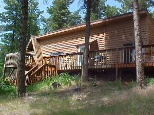 Deadwood vacation rentals strawberry gulch cabin for Cabins near deadwood sd
