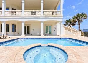 Daytona beach vacation rentals hammock beach mansion - 20 bedroom vacation rentals florida ...