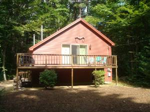 Madison vacation rentals country chalet cozy 3br 1 5 ba for Madison cabin rentals