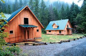 Opal Creek Vacation Rentals Wilderness Cabin In The