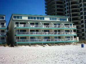 panama city beach vacation rentals gulfront two bedroom at nautical